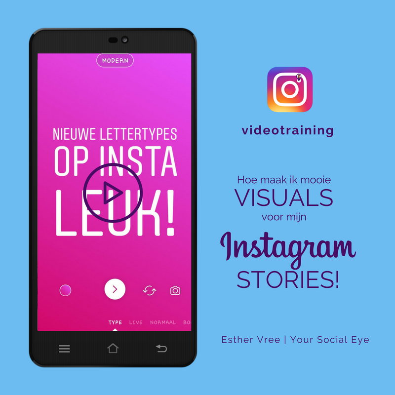 Instagram Stories Online Videotraining Hoe Maak Ik Mooie Visuals