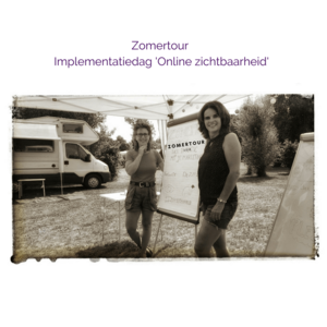 Zomertour Implementatiedag 'Online zichtbaarheid'