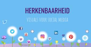 Herkenbaarheid op Social Media - template