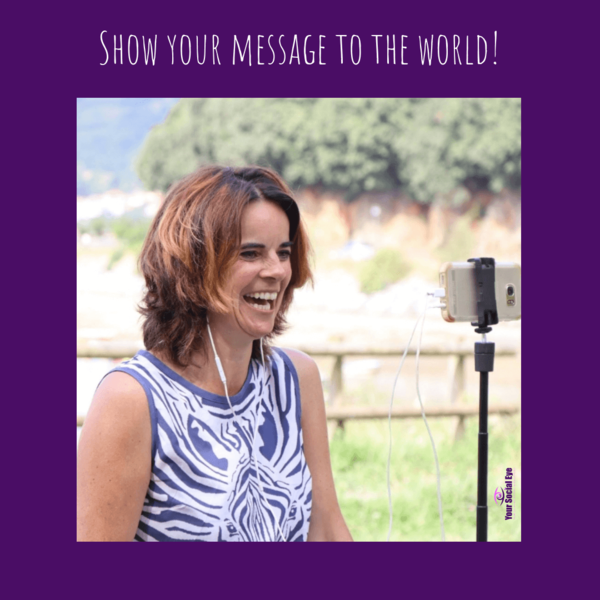 Show your message to the world