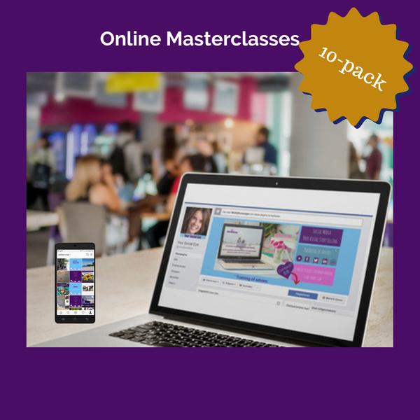 Online Masterclasses 10 pack