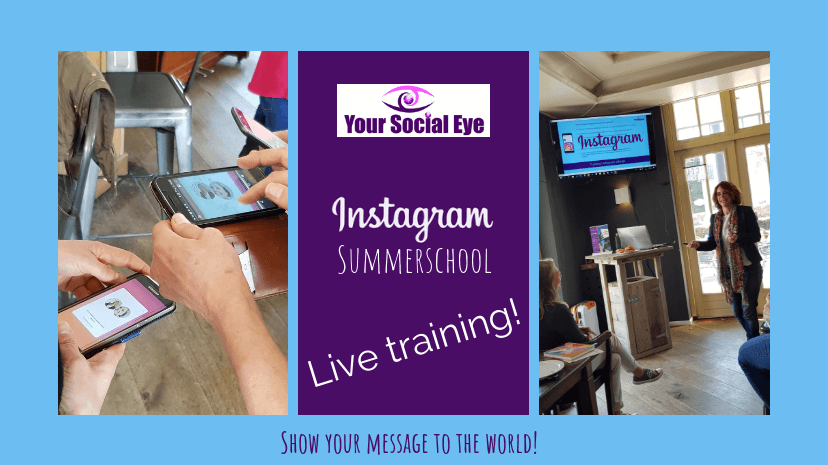 Instagram Summerschool LIVE editie