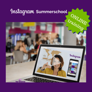 Instagram Summerschool ONLINE training