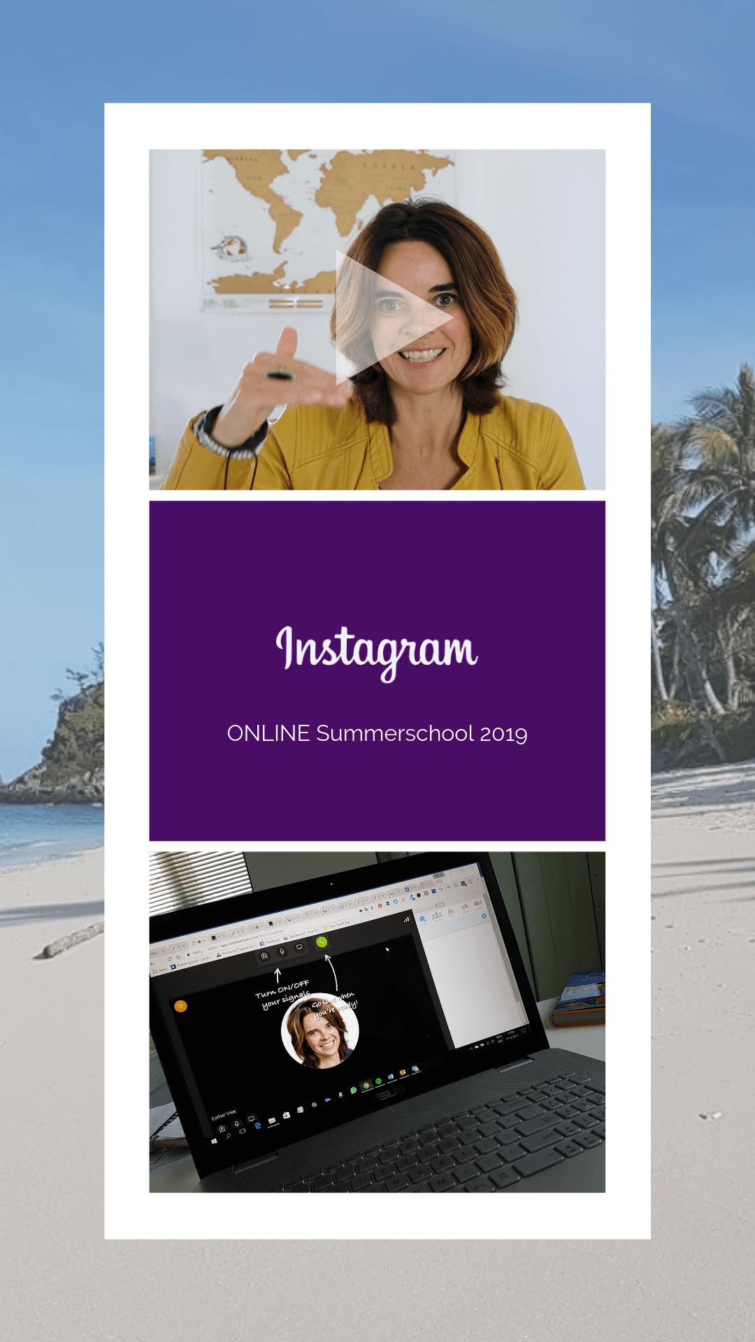 Instagram Summerschool online 2019