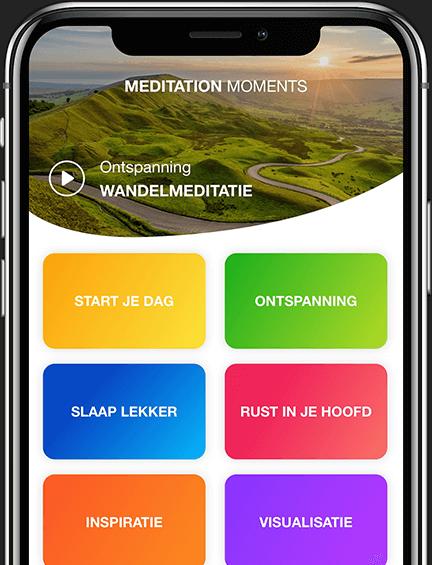 Meditation moments app