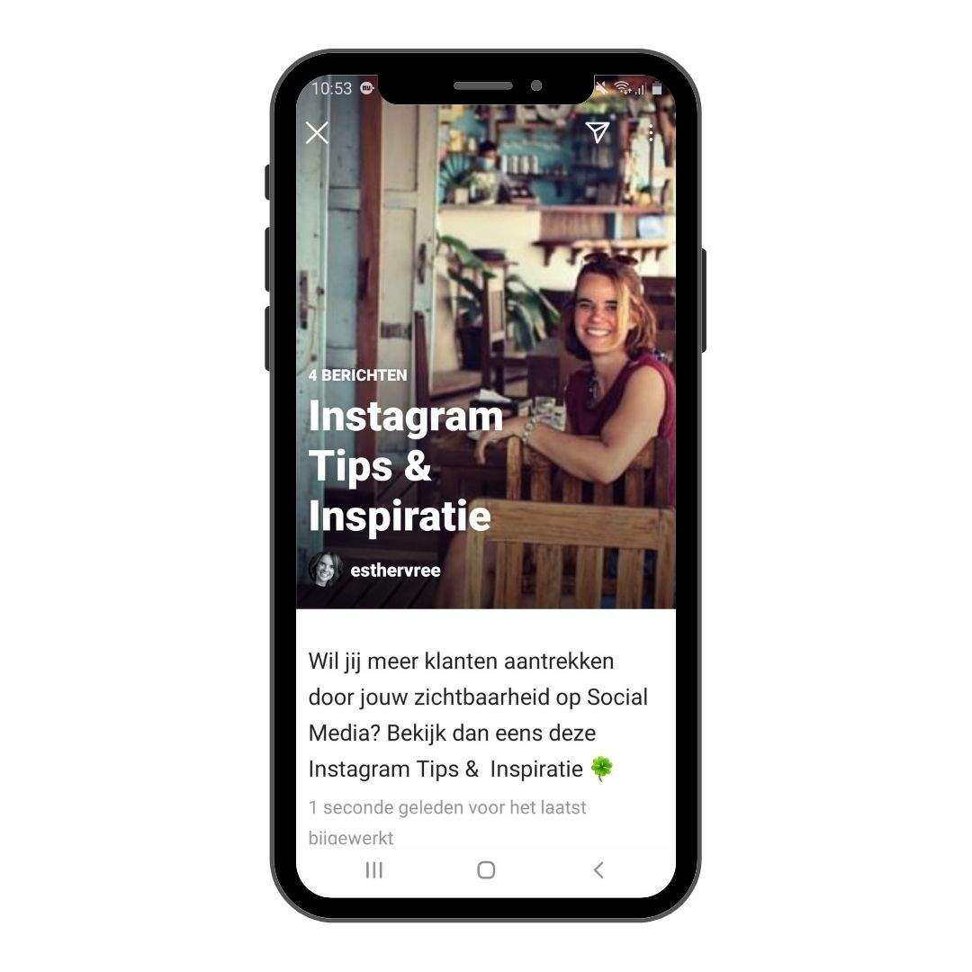Nieuwe functie Instagram Gidsen 1