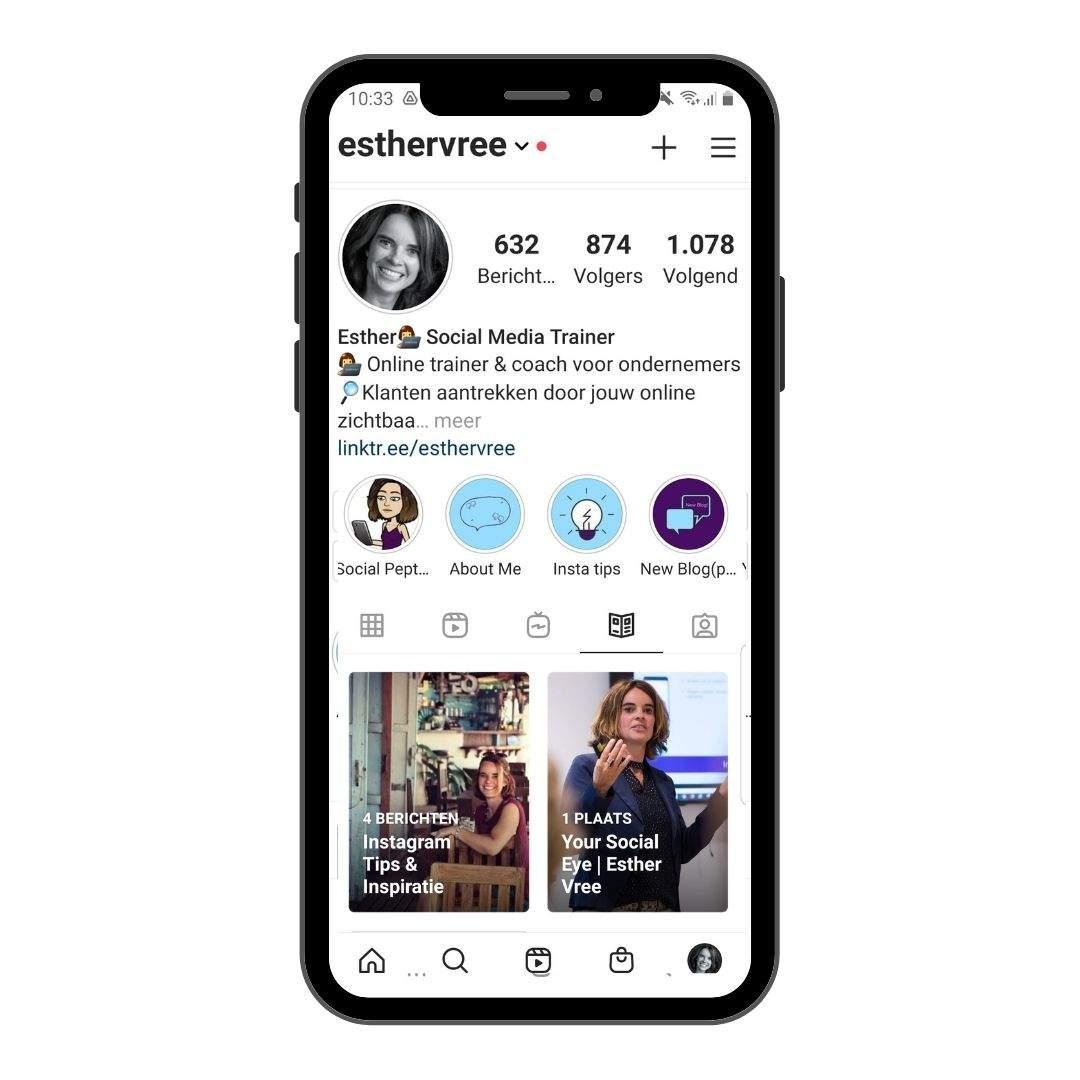 Nieuwe functie Instagram Gidsen 2